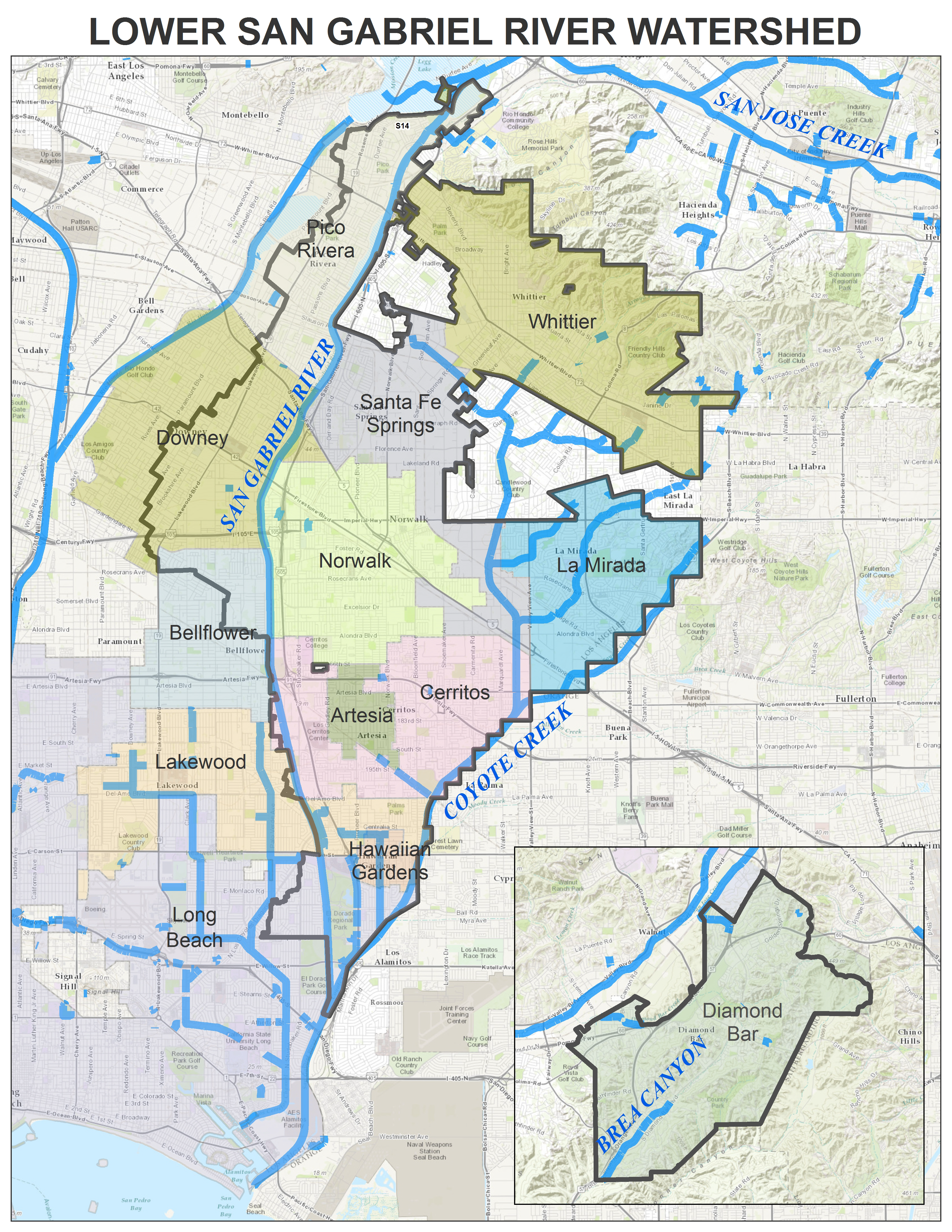 Lower San Gabriel River (LSGR) | GWMA Gateway Water ... on antelope valley map, la county map, pico rivera, east fork san gabriel river map, south bay, los angeles, central valley map, central san diego map, south los angeles, south san francisco map, san gabriel mountains map, inland empire map, west covina map, baldwin park, orange county, hacienda heights map, san dimas, san gabriel river, diamond bar, greater san diego map, san diego, el monte, mission valley san diego map, death valley ca map, city of san fernando map, la puente map, east los angeles, santa fe dam recreation area map, west covina, antelope valley, valley of fire nevada map, sacramento valley map, temple city, san fernando valley, long beach map, los angeles map, san gabriel mountains,